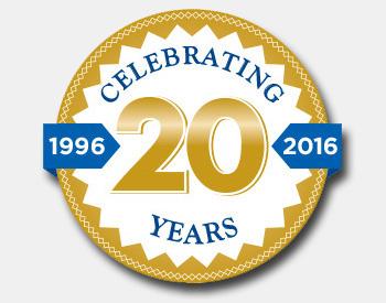 Celebrating 20th anniversary